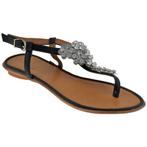 Chaussures Femme Sandales et Nu-pieds Total Lookers 60829 strass Tongs