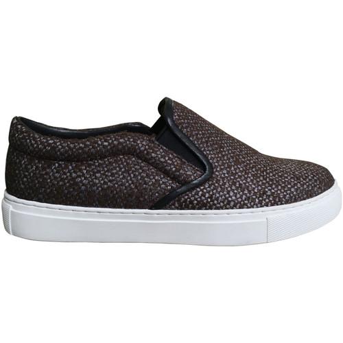 Chaussures Femme Slip ons Kesslord KOOL KESKATE_TL_MR Marron