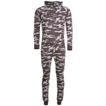 Ensembles de survêtement Cabaneli Ensemble Survêtement Jogging Tech Camo Points