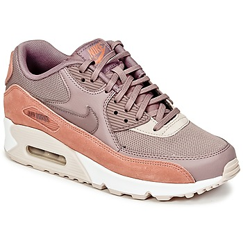 Chaussures Femme Baskets basses Nike AIR MAX 90 W Taupe / Rose
