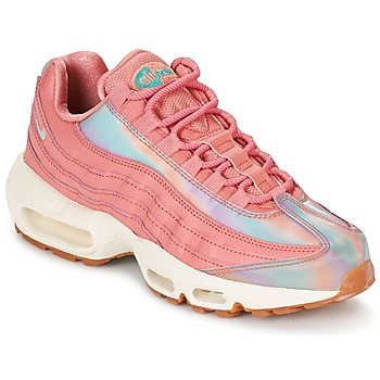 Chaussures Femme Baskets basses Nike AIR MAX 95 SE W Rose