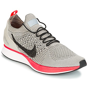 Chaussures Femme Baskets basses Nike AIR ZOOM MARIAH FLYKNIT RACER PREMIUM W Gris / Rose