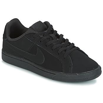 Chaussures Enfant Baskets basses Nike COURT ROYALE GRADE SCHOOL Noir