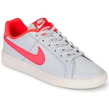Chaussures Fille Baskets basses Nike COURT ROYALE GRADE SCHOOL Gris / Rose