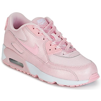 Chaussures Fille Baskets basses Nike AIR MAX 90 MESH SE PRESCHOOL Rose