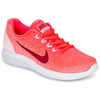Chaussures Femme Running / trail Nike LUNARGLIDE 9 W Rose