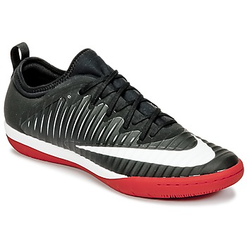 Chaussures Homme Football Nike MERCURIALX FINALE II IC Noir / Blanc / Rouge