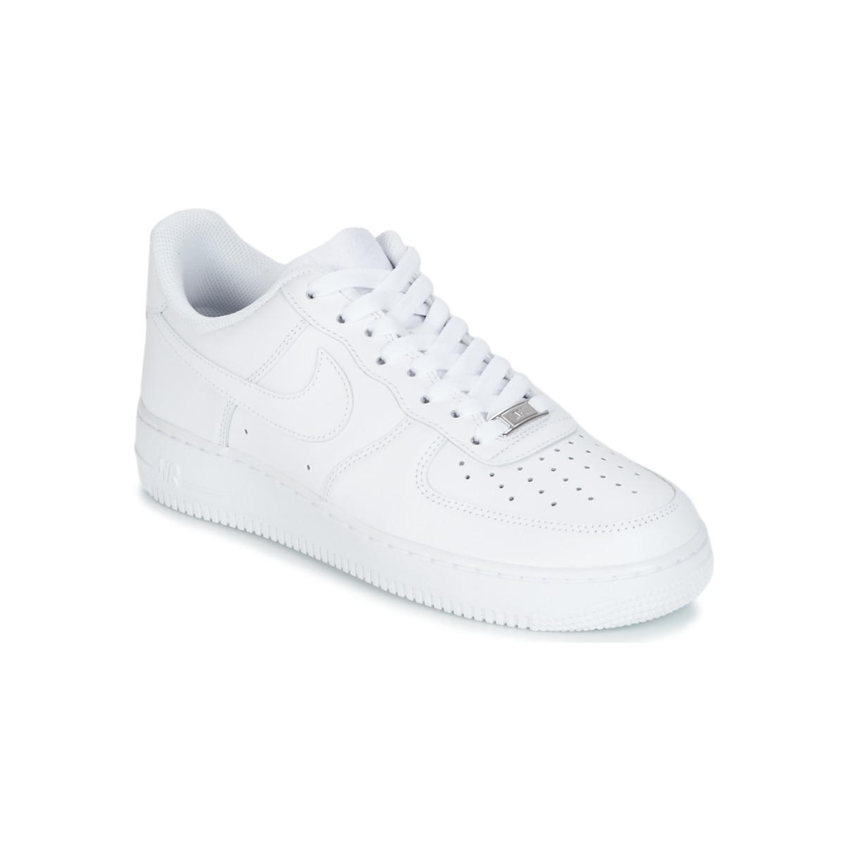 official photos fb466 85c38 Chaussures Homme Baskets basses Nike AIR FORCE 1 07 Blanc