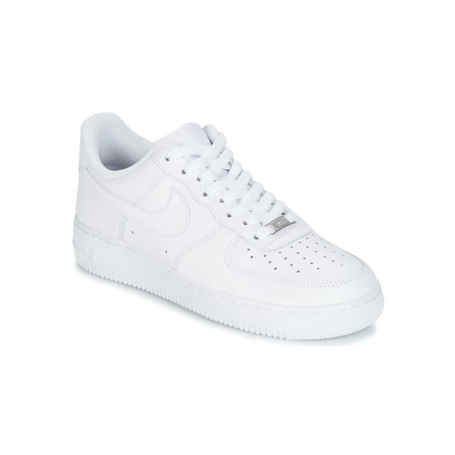 a824362bf4f Chaussures Homme Baskets basses Nike AIR FORCE 1 07 Blanc