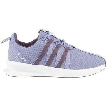 Chaussures Enfant Baskets basses adidas Originals ZX Flux SL Loop Racer J Violet