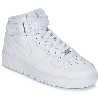 Basket montante Nike AIR FORCE 1 MID 07 LEATHER Blanc 350x350
