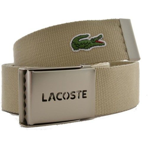 lacoste ceinture rc0012 beige beige accessoires textile ceintures homme 39 90. Black Bedroom Furniture Sets. Home Design Ideas