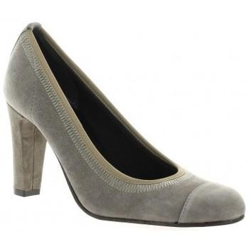Chaussures Femme Escarpins Elizabeth Stuart Escarpins cuir velours Vison