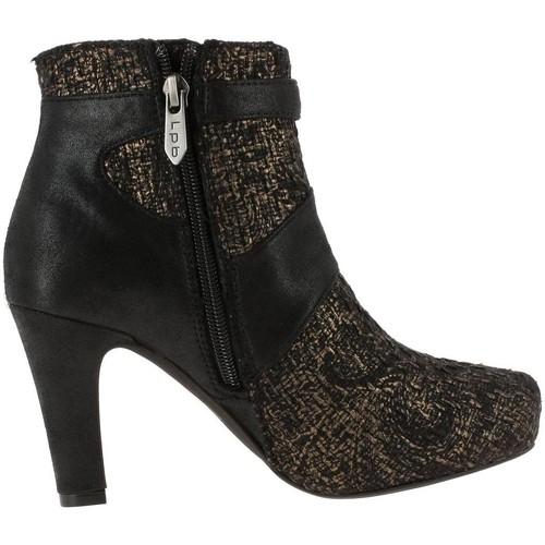 Chaussures Femme Bottines LPB Shoes audrey marron