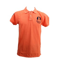 Vêtements Homme Polos manches courtes Rivaldi Polo Molustac Orange