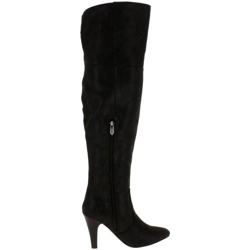 Chaussures Femme Bottes LPB Shoes jonquille noir