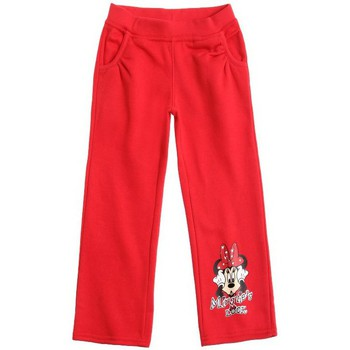 Vêtements Enfant Pantalons Disney Minnie Mouse Pantalon de jogging Disney Rouge