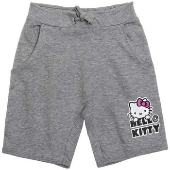 Vêtements Fille Shorts / Bermudas Hello Kitty Short gris