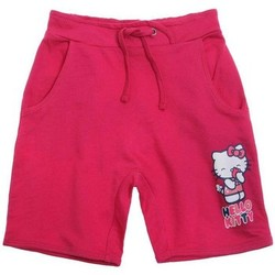 Vêtements Fille Shorts / Bermudas Hello Kitty Short rose