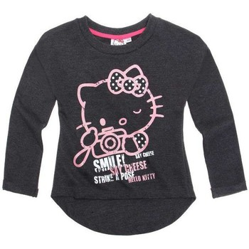 Vêtements Enfant Sweats Hello Kitty Sweat Gris