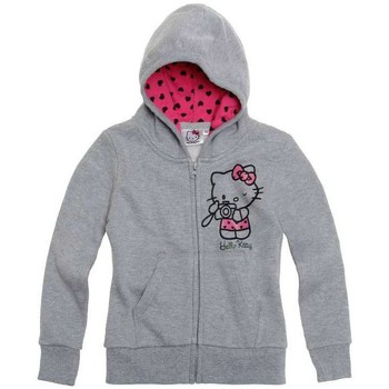 Vêtements Enfant Gilets / Cardigans Hello Kitty Gilet zippé Gris