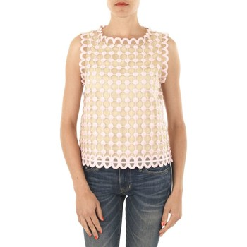 Vêtements Femme Tops / Blouses Red Valentino Top  Rose Rose