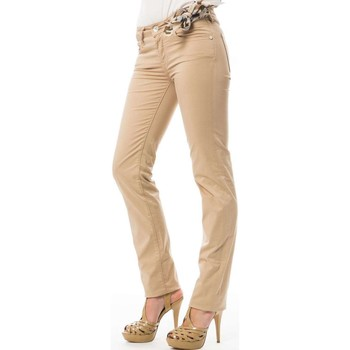 Vêtements Femme Pantalons 5 poches Jacob Cohen Pantalon Pw711 Jacob CohËn Beige Beige