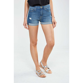 Vêtements Femme Shorts / Bermudas Firetrap Short Sally  Bleu Bleu