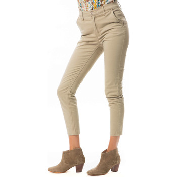 Vêtements Femme Pantacourts Cheap Monday Pantalon Ankle Chino Beige Beige