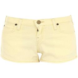 Shorts / Bermudas Lee Short Hotpant  Jaune