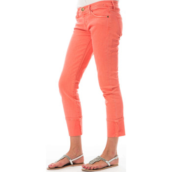 Vêtements Femme Jeans slim Current Elliott Jeans The Beatnik  Rose Rose