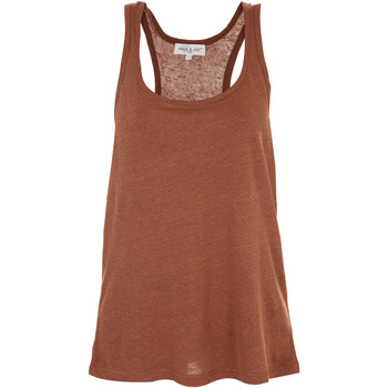 Vêtements Femme Tops / Blouses Paul & Joe Debardeur Gretel  Marron Marron