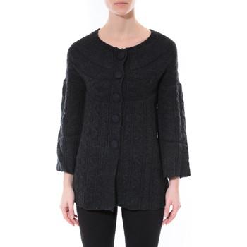 Vêtements Femme Pulls De Fil En Aiguille Gilet MaElla Noir AN 141 Noir
