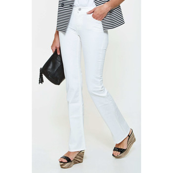 Jeans bootcut 7 for all Mankind Jeans Mid Rise  Blanc