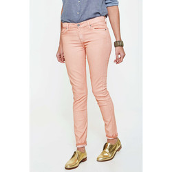 Vêtements Femme Jeans slim 7 for all Mankind Jeans The Skinny  Saumon Orange
