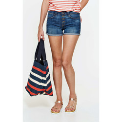 Shorts / Bermudas 7 for all Mankind Short Biancha  Bleu