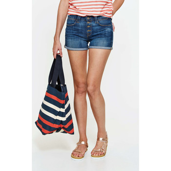 Vêtements Femme Shorts / Bermudas 7 for all Mankind Short Biancha  Bleu Bleu