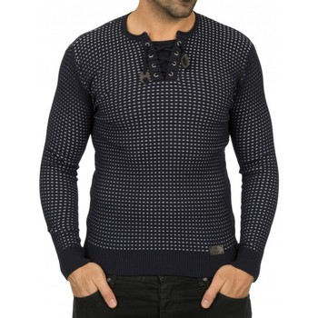 Vêtements Homme Pulls Beststyle Pull homme a motif marine Marine