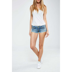 Vêtements Femme Shorts / Bermudas True Religion Short Bobby  Bleu Bleu
