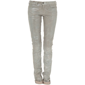 Vêtements Femme Jeans slim Notify Jeans Bamboo Leather Glitter  Gris Gris