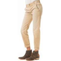 Vêtements Femme Jeans 3/4 & 7/8 Current Elliott Pantalon The Captain  Camel Camel