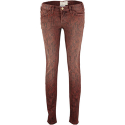 Vêtements Femme Jeans skinny Current Elliott Jeans The Ankle  Marron Marron