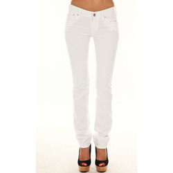 Vêtements Femme Chinos / Carrots Gas Pantalon Tasche Britty  Blanc Blanc