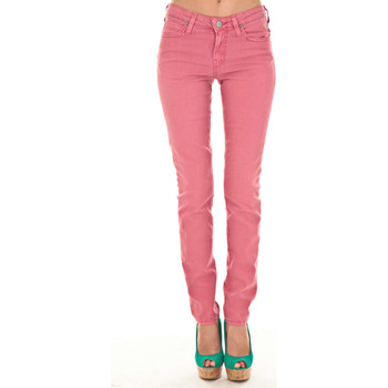 Vêtements Femme Jeans slim Lee Jeans Scarlet  Fushia Rose