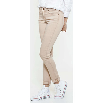 Vêtements Femme Jeans slim Lee Jeans Scarlet  Rose Rose