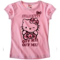 Vêtements Fille T-shirts manches courtes Hello Kitty T-shirt à manches courtes rose