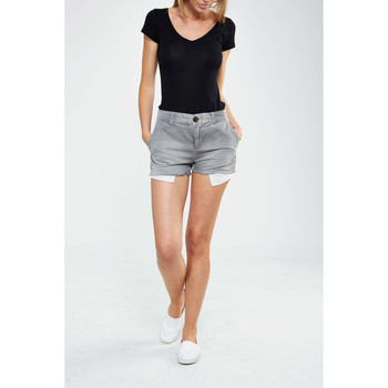 Vêtements Femme Shorts / Bermudas Current Elliott Short The Smart  Gris Gris