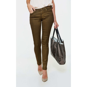 Jeans slim 7 for all Mankind Jeans Gwenevere  Kaki