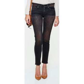Vêtements Femme Jeans slim 7 for all Mankind Jeans Gwenevere  Noir Rouille Noir