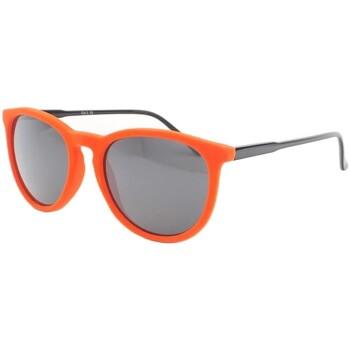 Montres & Bijoux Homme Lunettes de soleil Eye Wear Lunettes de soleil en velours Orange Funky Orange